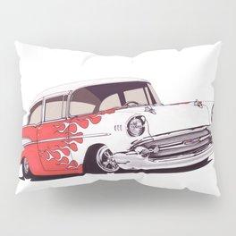 1957 Hot rod Pillow Sham
