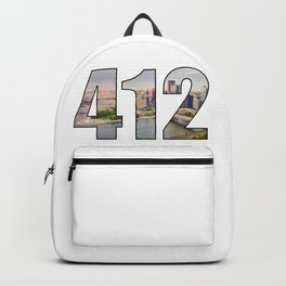 412 (Pittsburgh Area Code) Backpack
