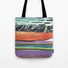 Tropicana Electric Tote Bag