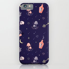 Witch pattern iPhone Case
