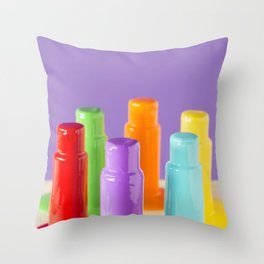PAIN DIPS 2 Throw Pillow