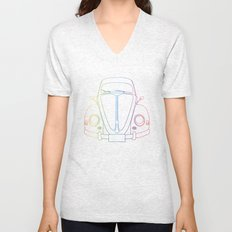 Rainbow Beetle Unisex V-Neck