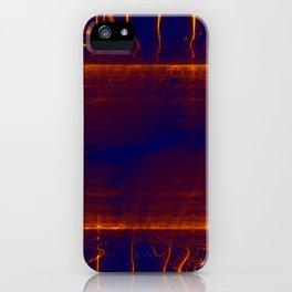 liquid glowing gold iPhone Case