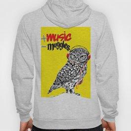 More music, less muggles Hoody