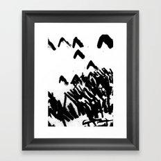 Burn 2 Framed Art Print