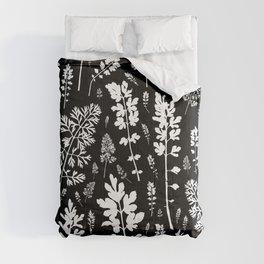 plenty of plants in the dark Comforters