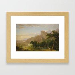Landscape In Italy Framed Art Print