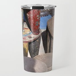 African village Travel Mug