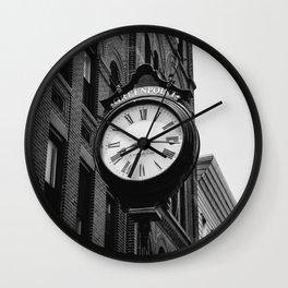 Greenpoint Brooklyn Wall Clock
