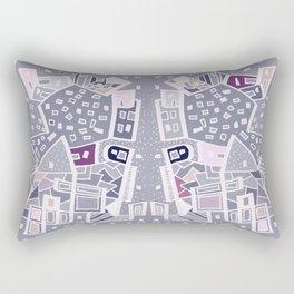 Violet City Rectangular Pillow