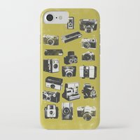 cameras iPhone & iPod Cases featuring Cameras by ELCORINTIO