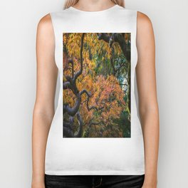 Autumn Beauty Biker Tank