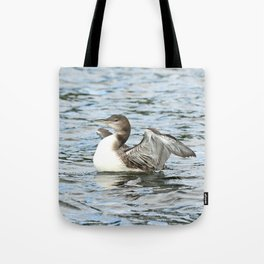 Baby loon all grown up Tote Bag