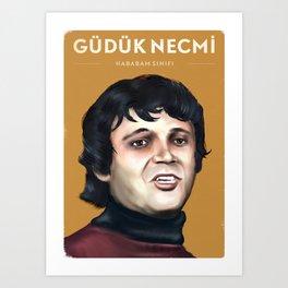 Güdük Necmi - Hababam Sınıfı Art Print