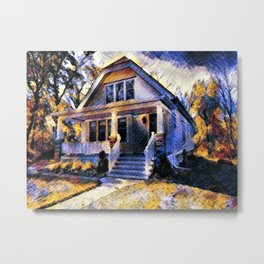 Our Old House Metal Print