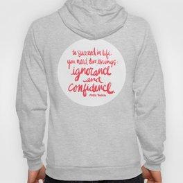 Ignorance & Confidence #3 Hoody