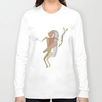 hunting Long Sleeve T-shirts featuring Hunting Party by BohemianBound