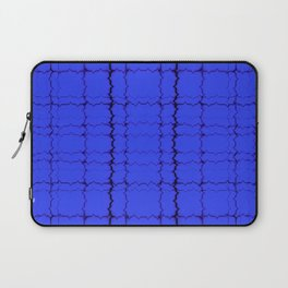 jagged, blue Laptop Sleeve