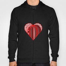 red heart . artlove Hoody
