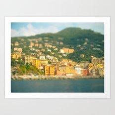 Italy. Art Print