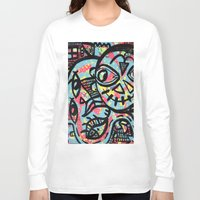 cheshire Long Sleeve T-shirts featuring Cheshire by Lisa Brown Gallery