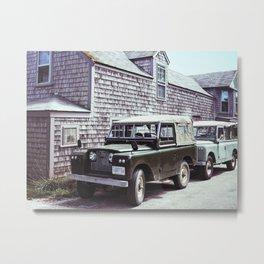 Nantucket Land Rover Metal Print
