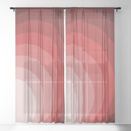 Circles Ar Sheer Curtain