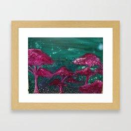 Fireflies and Will o' Wisps Framed Art Print