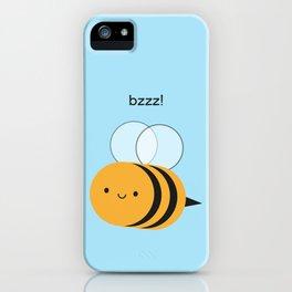 Kawaii Buzzy Bumble Bee iPhone Case
