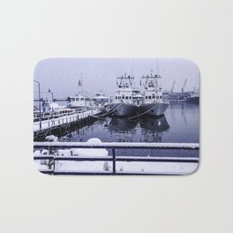 Boatyard Ushuaia - the the southernmost city in the world Bath Mat