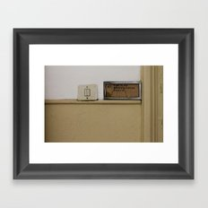 LOST PLACES - 47 Framed Art Print