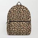 Leopard Print, Black, Brown, Rust and Tan by mmgladn10