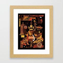 Bat Idol Framed Art Print