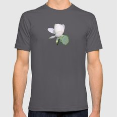 Lotus. Asphalt SMALL Mens Fitted Tee