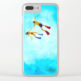 Explore the world Clear iPhone Case