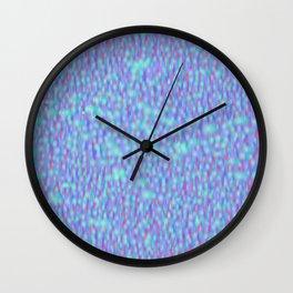 Globular Field 11 Wall Clock
