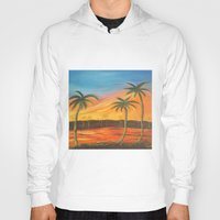 desert Hoodies featuring Desert by ArtSchool