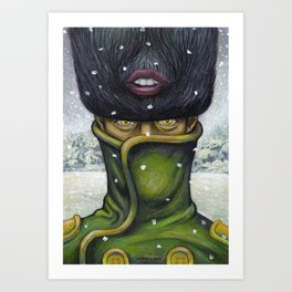 It was a cold winter... Art Print