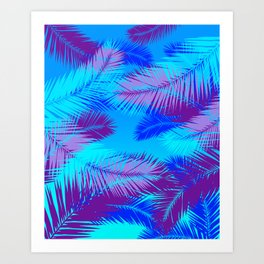 Tropic island Art Print
