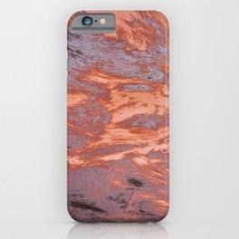 Rusty metal texture iPhone Case