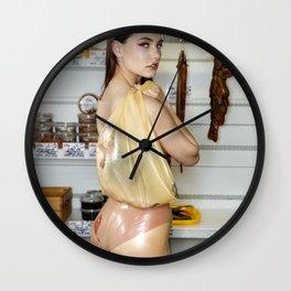Latex Bazaar Wall Clock