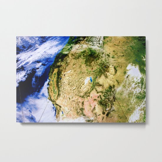 Happy Earth Day Metal Print