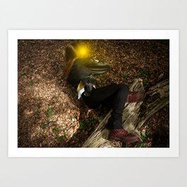 Forest Fairies Art Print