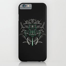 Hot Rod Pinstriping iPhone Case