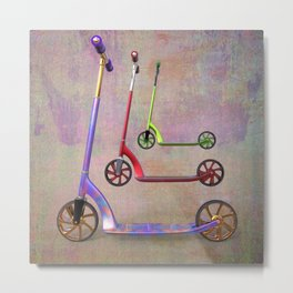 stillife with scooters Metal Print