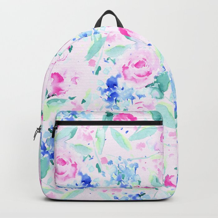 Scattered Lovers Pink Backpack