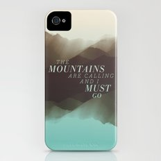 Mountains - Color iPhone (4, 4s) Slim Case