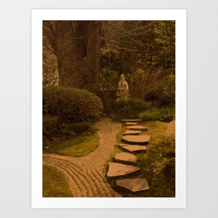 """A Path"" Art Print"