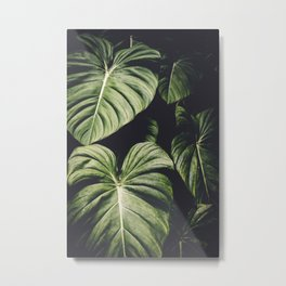 Monstera Madness Metal Print