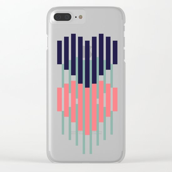 Give me some love Clear iPhone Case